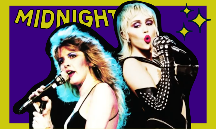 Miley Cyrus ropes in Stevie Nicks for 'Midnight Sky' remix - POPJUICE