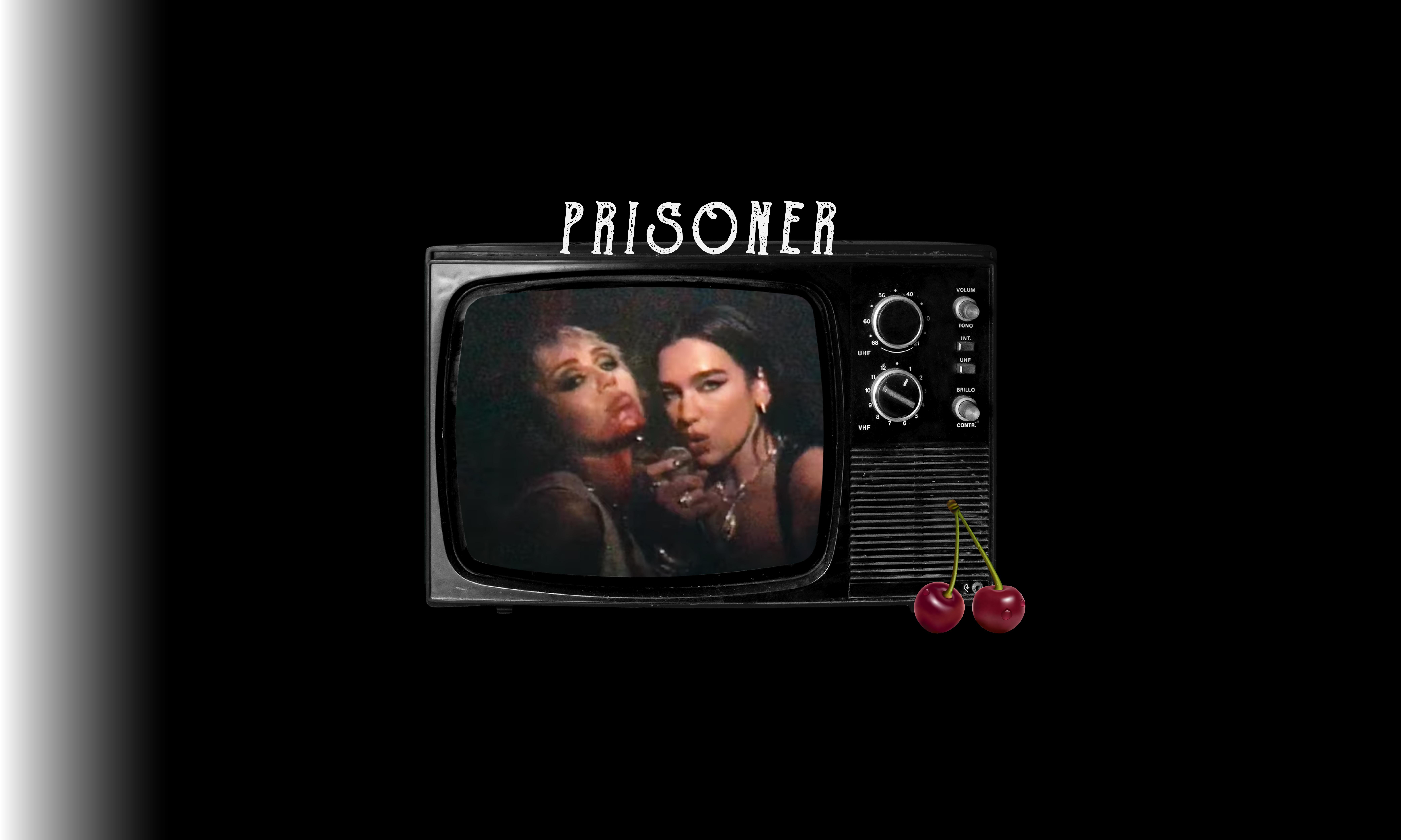 Miley Cyrus and Dua Lipa Prisoner - POPJUICE