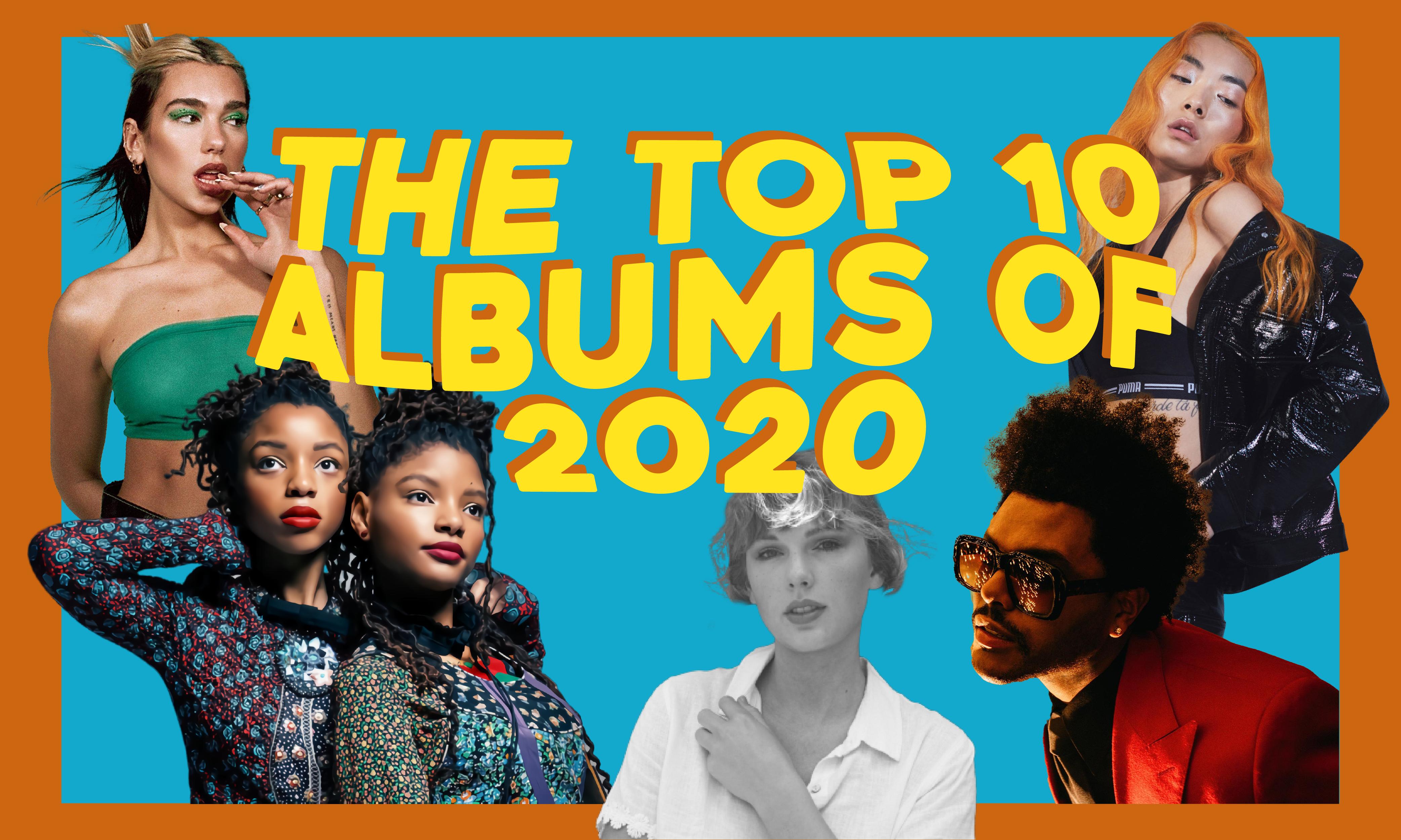 Best Albums of 2020 - POPJUICE