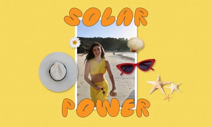 Lorde's 'Solar Power' Meaning - POPJUICE
